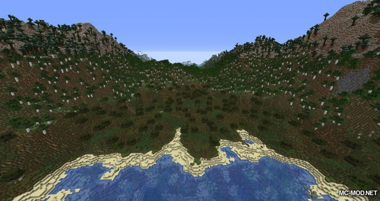 Simplex Terrain Generation mod for Minecraft (14)