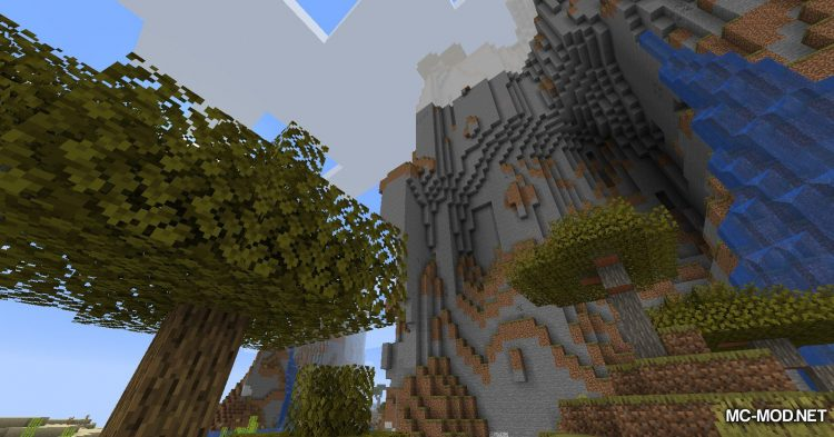 Simplex Terrain Generation mod for Minecraft (2)