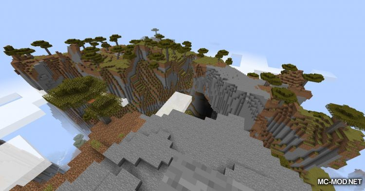 Simplex Terrain Generation mod for Minecraft (3)