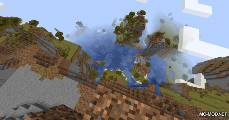Simplex Terrain Generation mod for Minecraft (4)