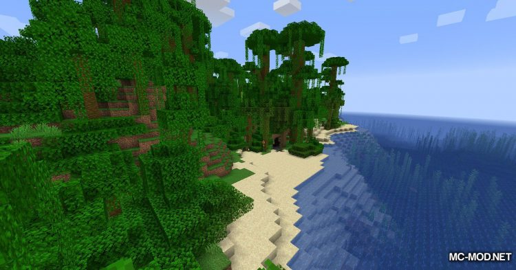 Simplex Terrain Generation mod for Minecraft (5)