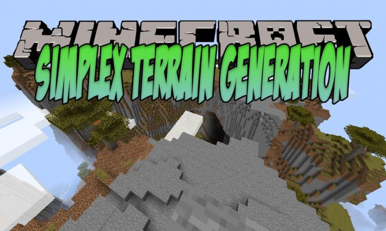 Simplex Terrain Generation mod for Minecraft logo