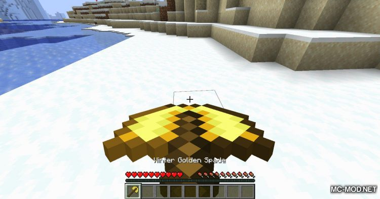 Simply Snowman mod for Minecraft (6)