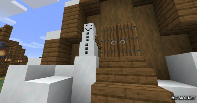 Simply Snowman mod for Minecraft (8)