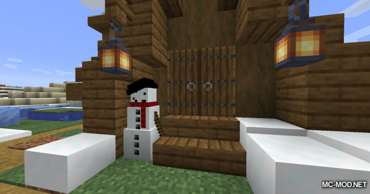 Simply Snowman mod for Minecraft (9)