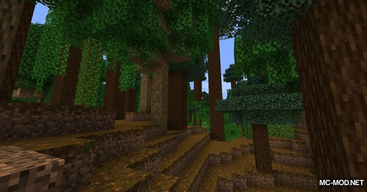 The Biome Overhaul mod for Minecraft (2)