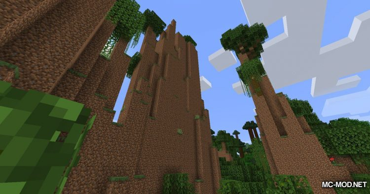 The Biome Overhaul mod for Minecraft (3)