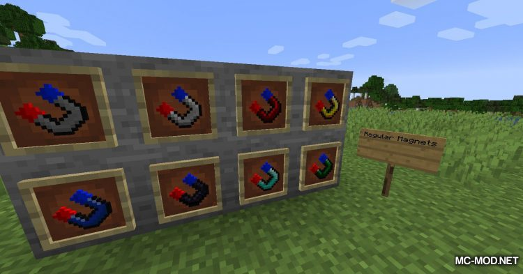 Tiered Magnets mod for Minecraft (12)