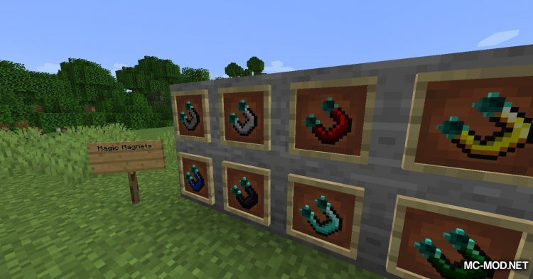 Tiered Magnets mod for Minecraft (13)