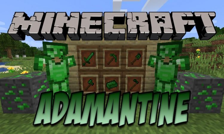 Adamantine mod for Minecraft logo