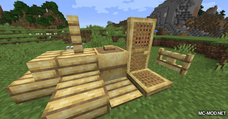 Bambootiful mod for Minecraft (5)