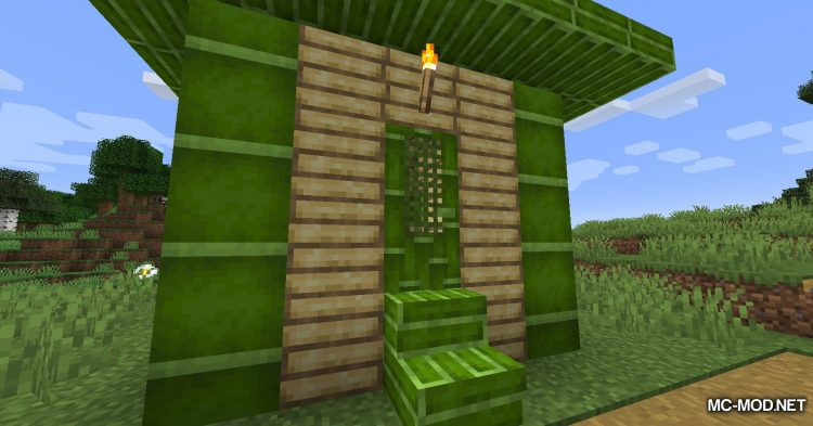 Bambootiful mod for Minecraft (9)