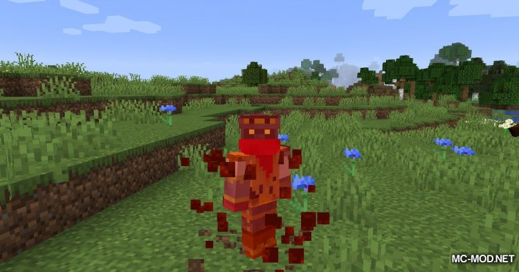 Blood Particles mod for Minecraft (12)