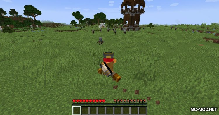 Blood Particles mod for Minecraft (4)