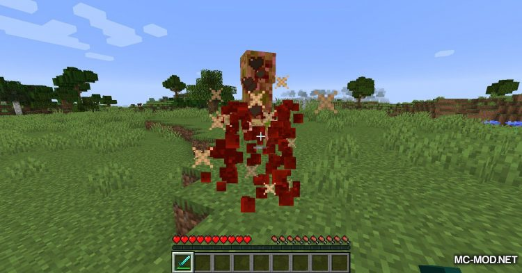 Blood Particles mod for Minecraft (7)