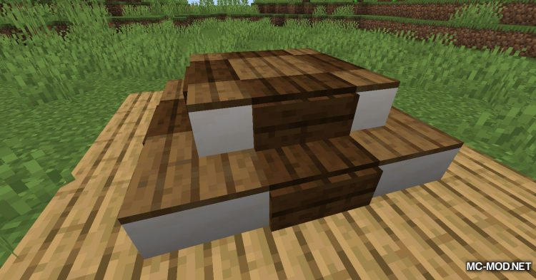 Carpet Stairs mod for Minecraft (11)