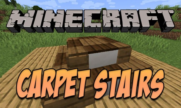 Carpet Stairs mod for Minecraft logo
