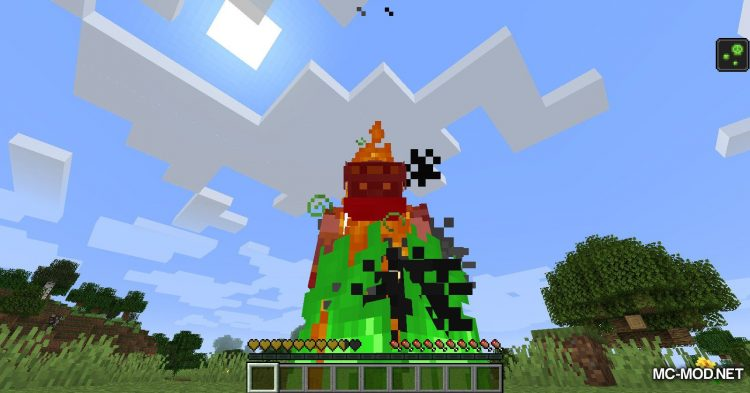 Colored Flames mod for Minecraft (5)