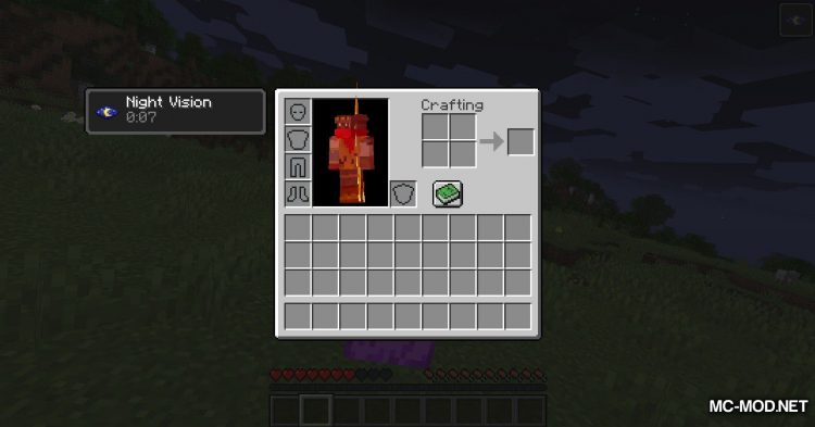Colored Flames mod for Minecraft (6)