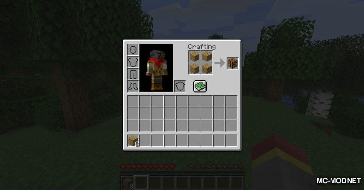 CraftingPad mod for Minecraft (4)