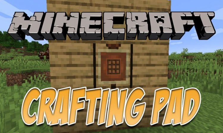 CraftingPad mod for Minecraft logo