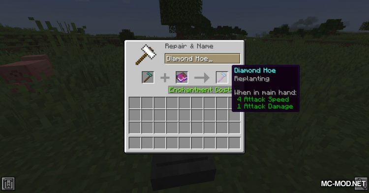 Enchantable mod for Minecraft (6)