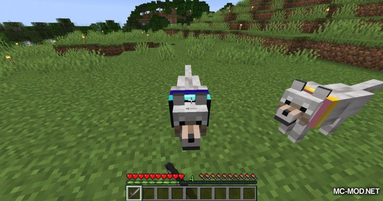 Enchanted Wolves mod for Minecraft (13)