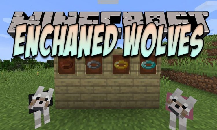 Enchanted Wolves mod for Minecraft logo