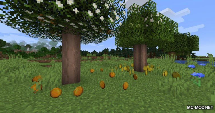 Fruit Trees mod for Minecraft (6)