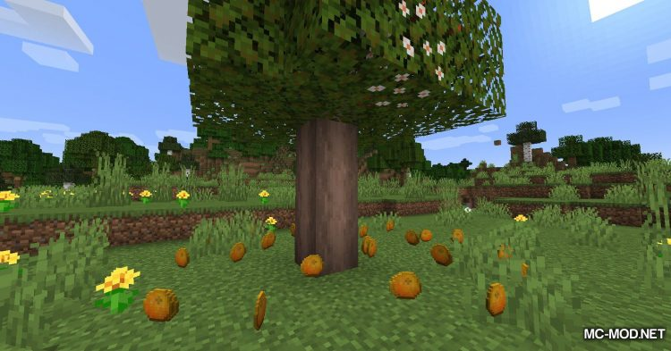 Fruit Trees mod for Minecraft (7)