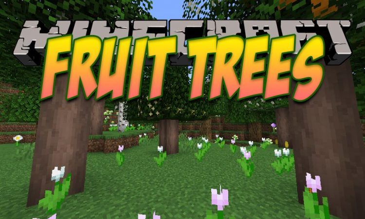 Fruit Trees mod for Minecraft logo
