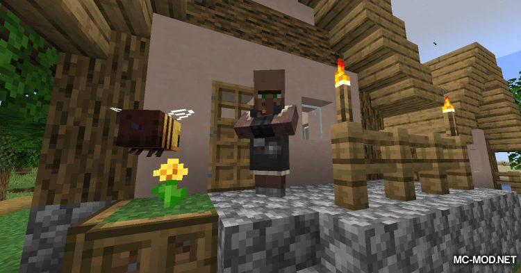 Guard Villagers mod for Minecraft (2)