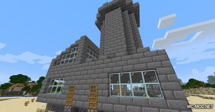 InstaHouses mod for Minecraft (15)