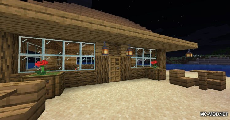 InstaHouses mod for Minecraft (16)