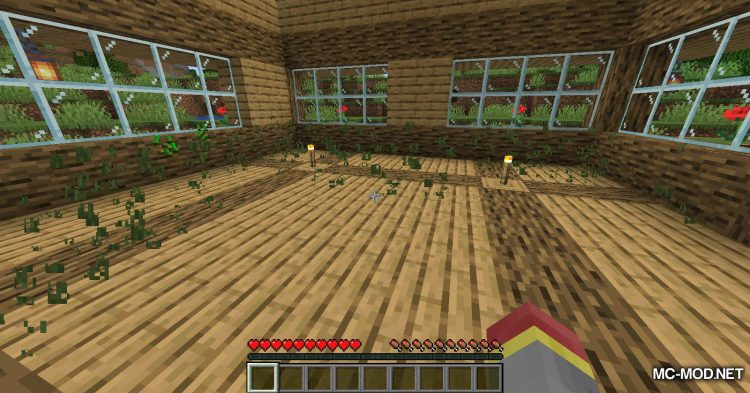 InstaHouses mod for Minecraft (2)