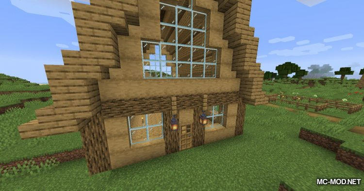InstaHouses mod for Minecraft (6)