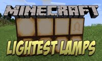 Lightest Lamps mod for Minecraft (14)
