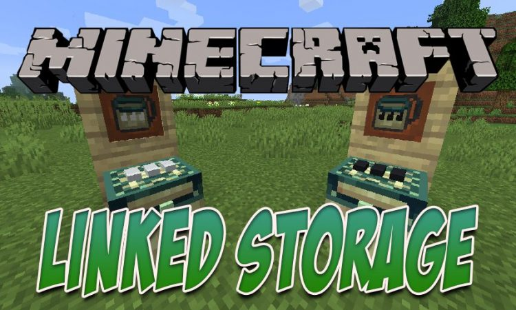 Linked Storage mod for Minecraft logo