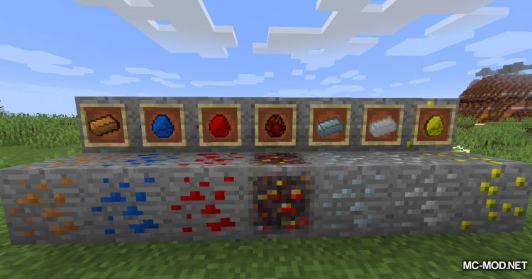 Lots O_ Ores mod for Minecraft (5)