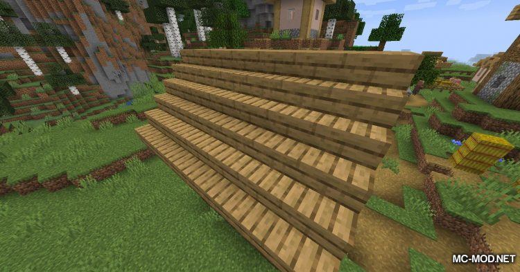 Macaw_s Roofs mod for Minecraft (2)