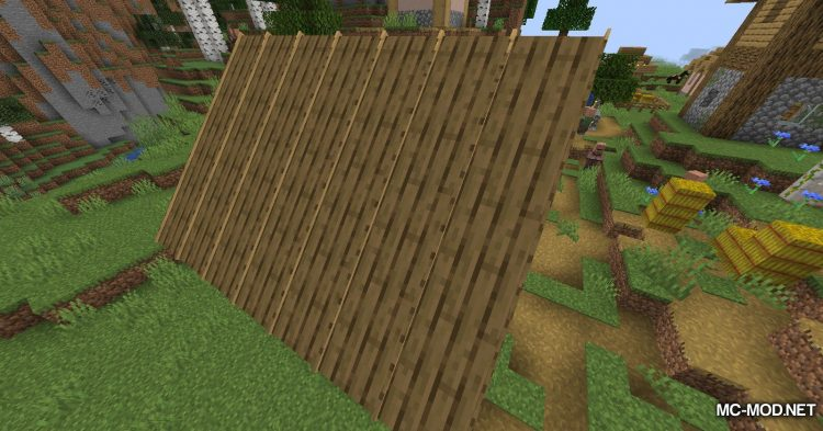 Macaw_s Roofs mod for Minecraft (3)