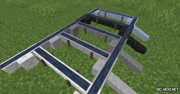 Macaw_s Roofs mod for Minecraft (5)