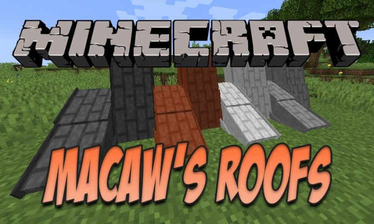 Macaw_s Roofs mod for Minecraft logo