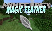Magic Feather mod for Minecraft logo