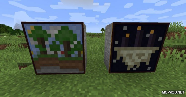 Music_PaintingZ mod for Minecraft (10)