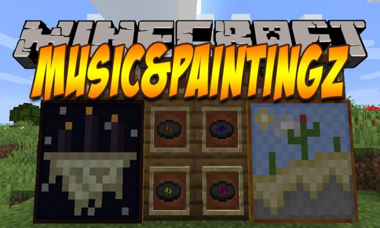Music_PaintingZ mod for Minecraft logo
