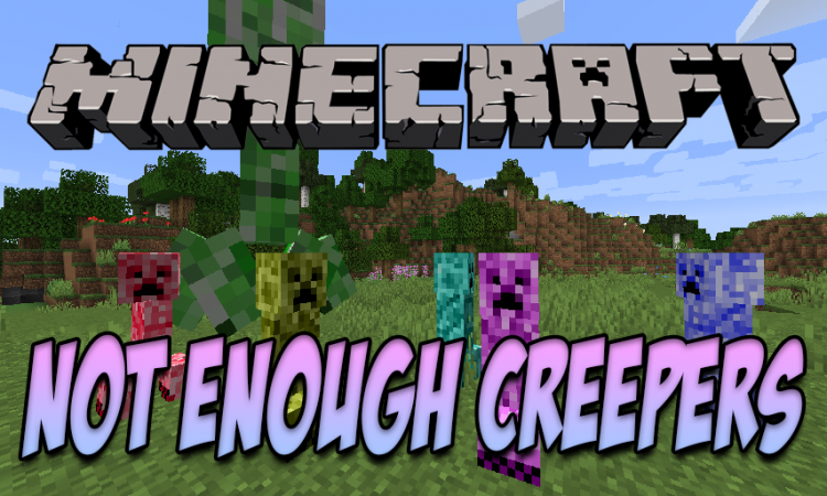 Not Enough Creepers mod for Minecraft logo