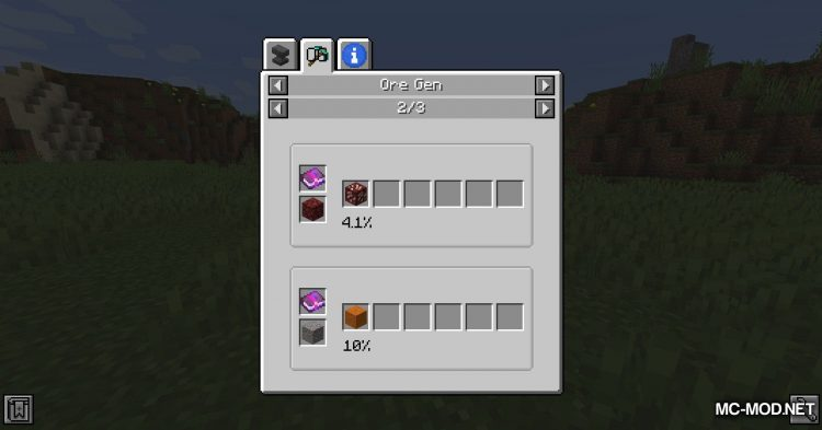 OreGen mod for Minecraft (12)
