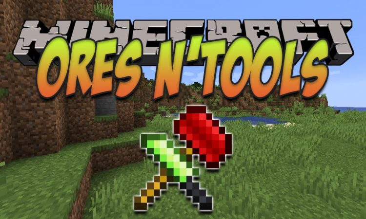 Ores n_Tools mod for Minecraft logo