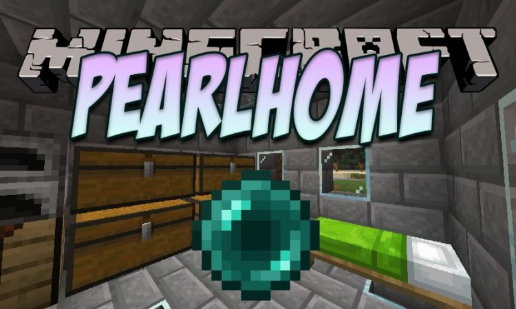 PearlHome mod for Minecraft logo